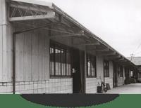 創業当時の工場外観