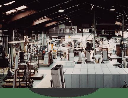 工場内観の様子